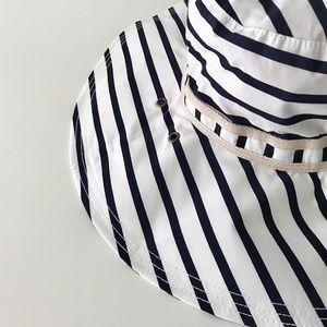 NWT Gap 100% Cotton Big Floppy Sun Hat, Packable